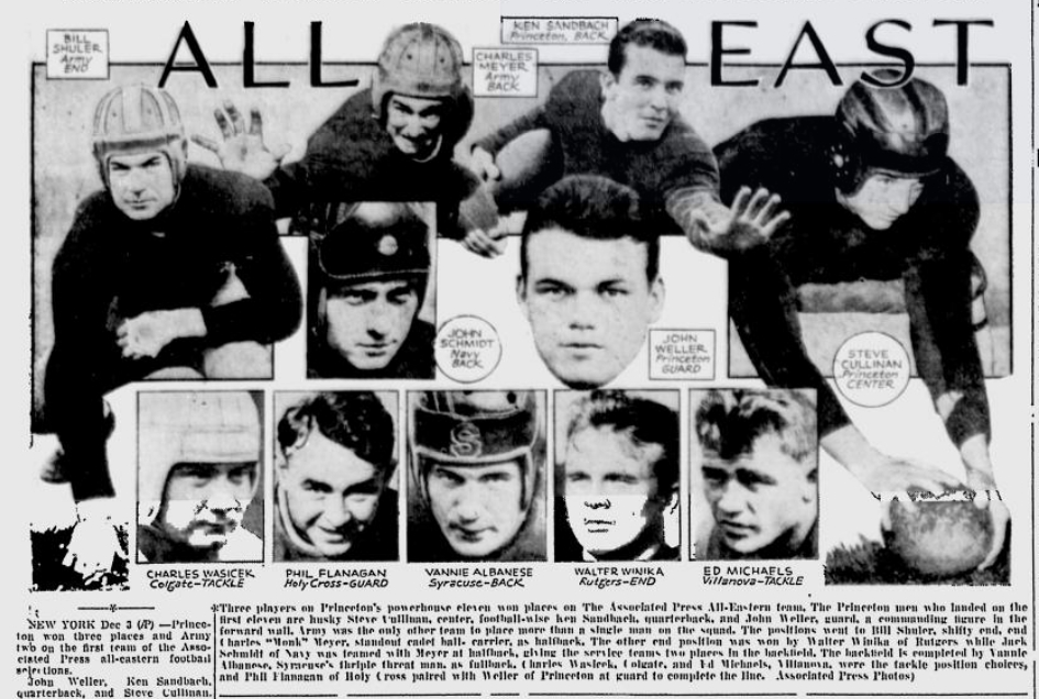 ArmyFB_1935_All-East_Telegraph_Dec31935