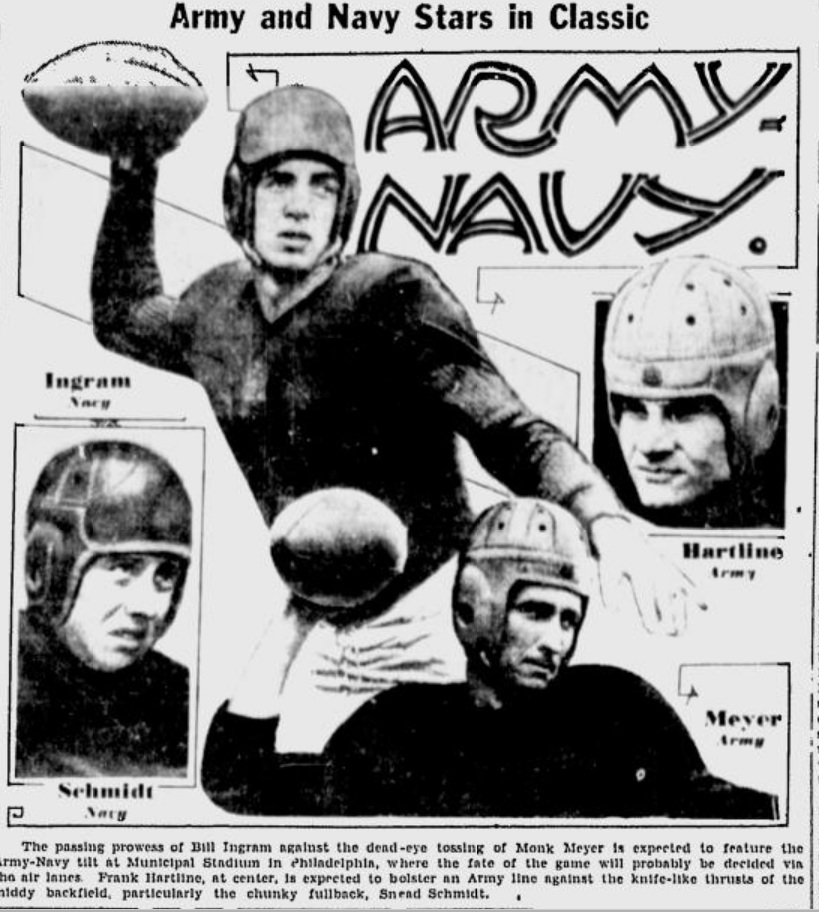 Image result for november 28, 1936 army navy