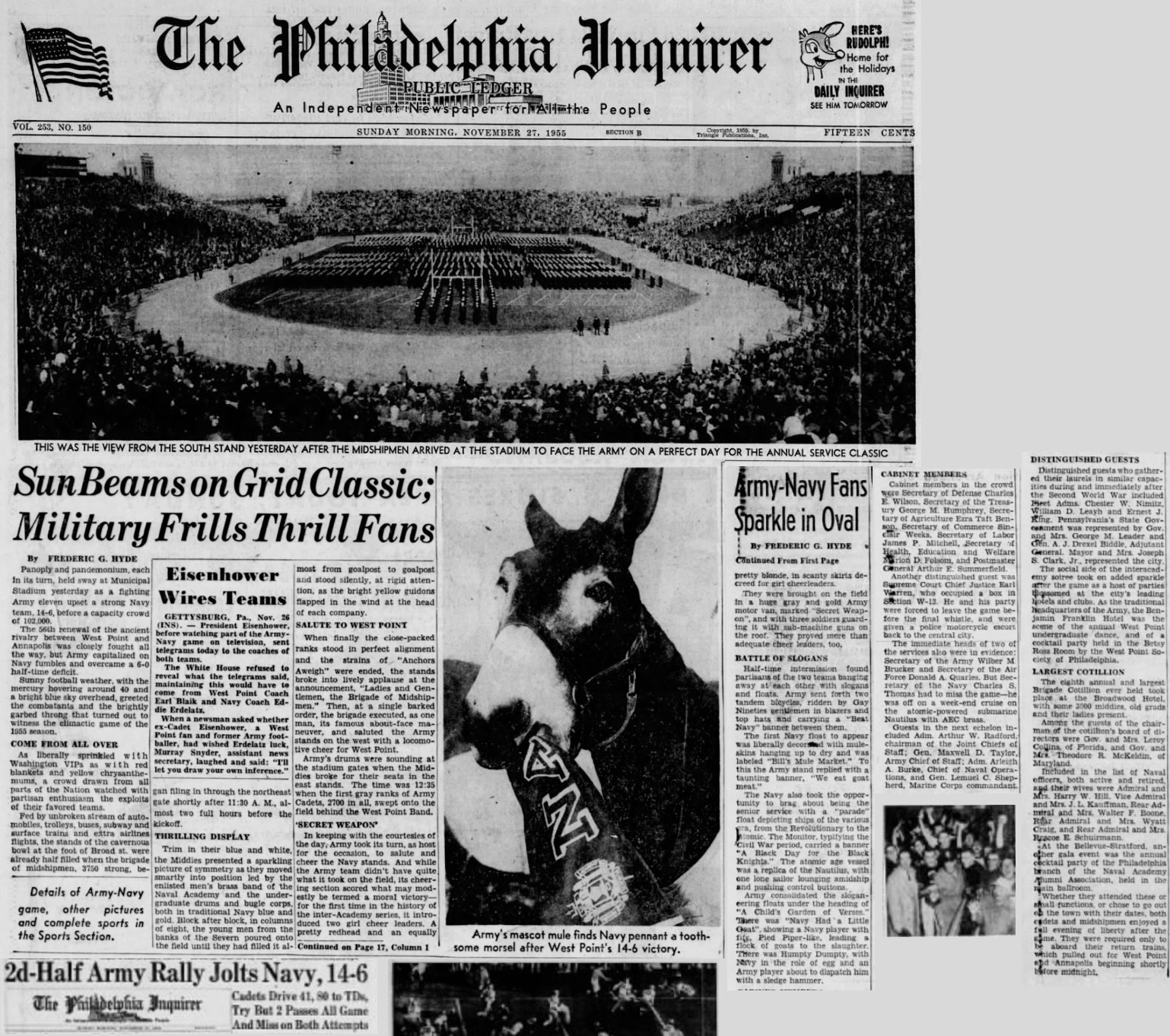 ArmyFB_1955_vsNavy_PhiladelphiaInquirer_Nov271955