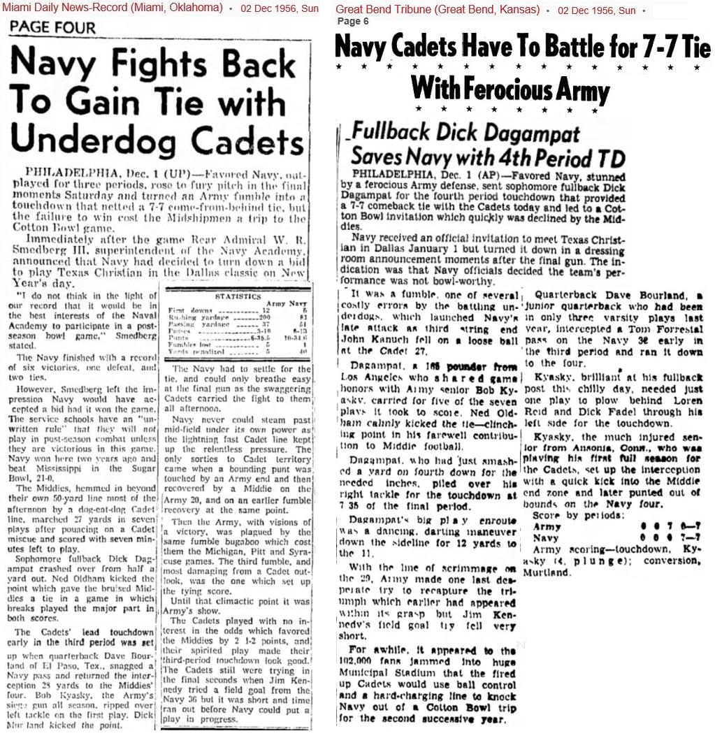 ArmyFB_1956_vsNavy_MiamiDailyNewsOK_Dec21956