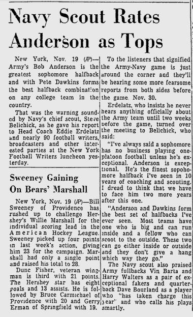 ArmyFB_1957_Anderson-Belichick_MiamiNews_Nov191957