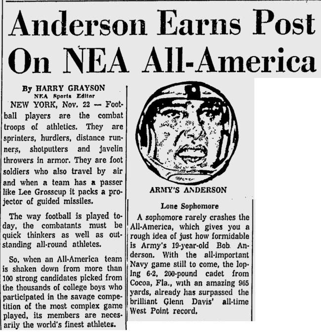 ArmyFB_1957_BobAnderson_MiamiNews_Nov221957