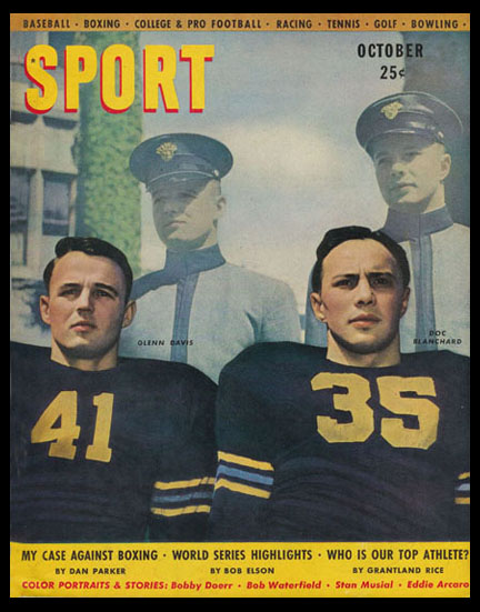 ArmyFB_1944-46_Davis_and_Blanchard_SportMagazine_Oct