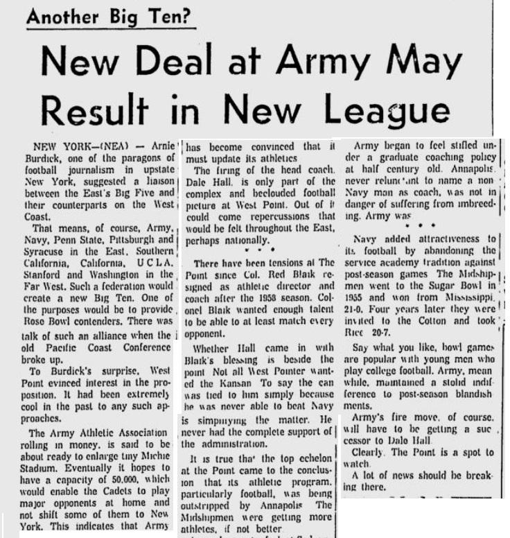 ArmyFB_1961_BigTen_AltusTimesDemocrat_Dec241961