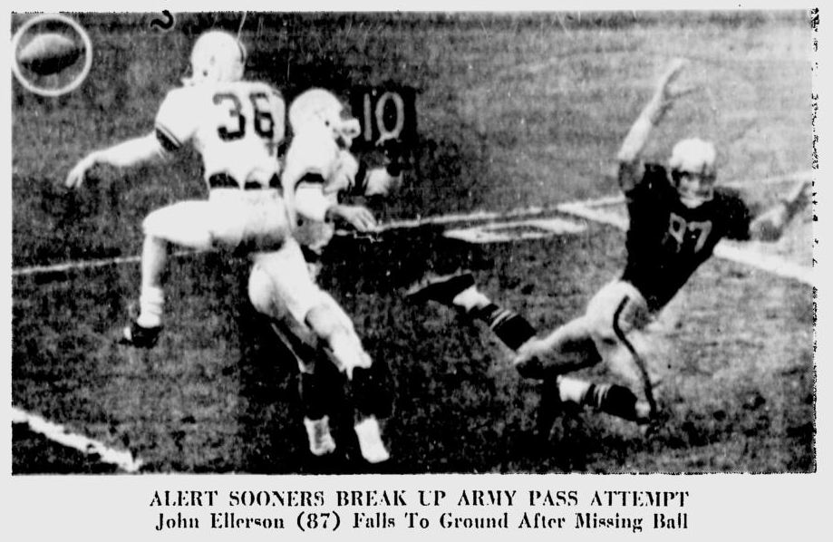 ArmyFB_1961_vsOU-JohnEllerson_MiamiNews_Nov191961
