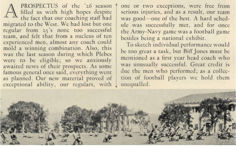 ArmyFB_1926_prospectus