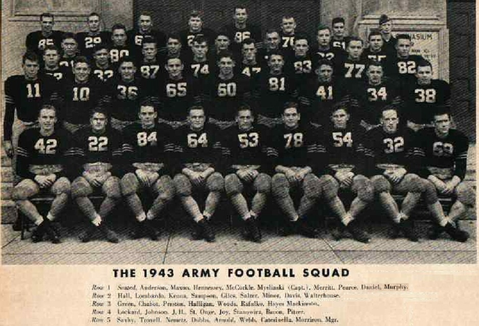 ArmyFB_1943_team-roster