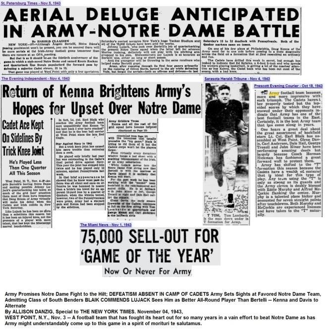 ArmyFB_1943_vsND-pre_various_Nov4-51943