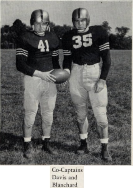 ArmyFB_1946_Blanchard-Davis_Co-Captains
