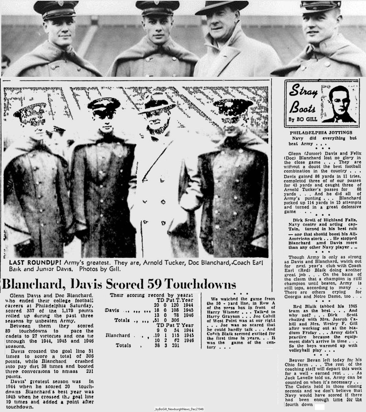 ArmyFB_1946_vsNavy_byBoGill_NewburghNews_Dec21946