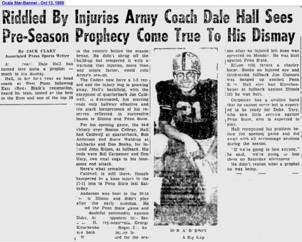 ArmyFB_1959_Injuries-Anderson_OcalaStarBanner_Oct131959