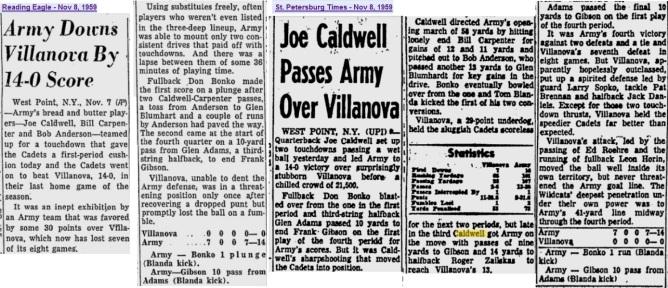 ArmyFB_1959_vsVillanova_various_Nov81959