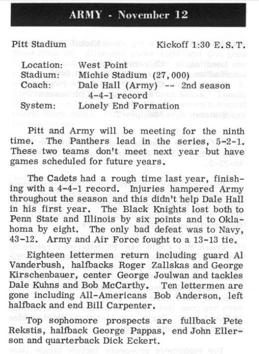 ArmyFB_1960_vsPittsburgh-guide