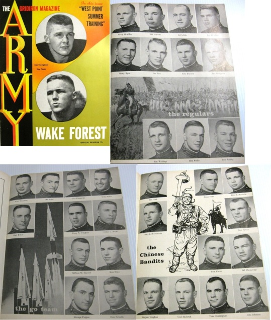 ArmyFB_1962_players_FootballProgram