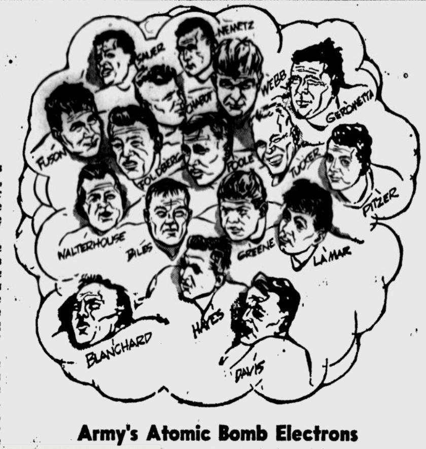 ArmyFB_1945_AtomicBombElectrons_StPetersburgTimes_Oct141945
