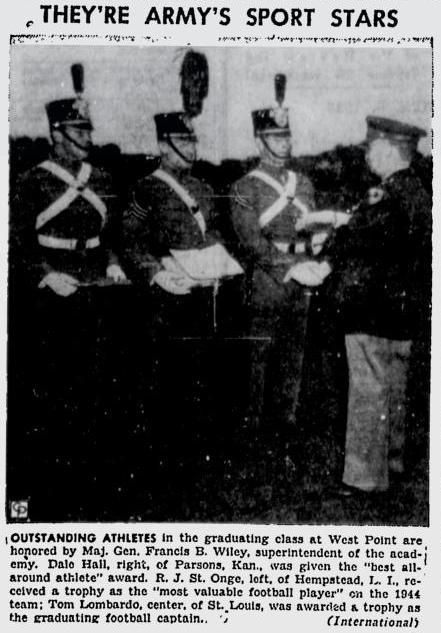 armyfb_1945_hall-lombardo-stonge_greensburgdailytribune_jun81945