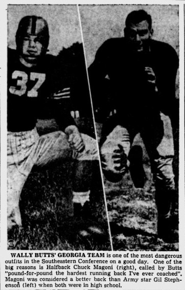ArmyFB_1950_GilStephenson_PortsmouthTimes_Oct211950
