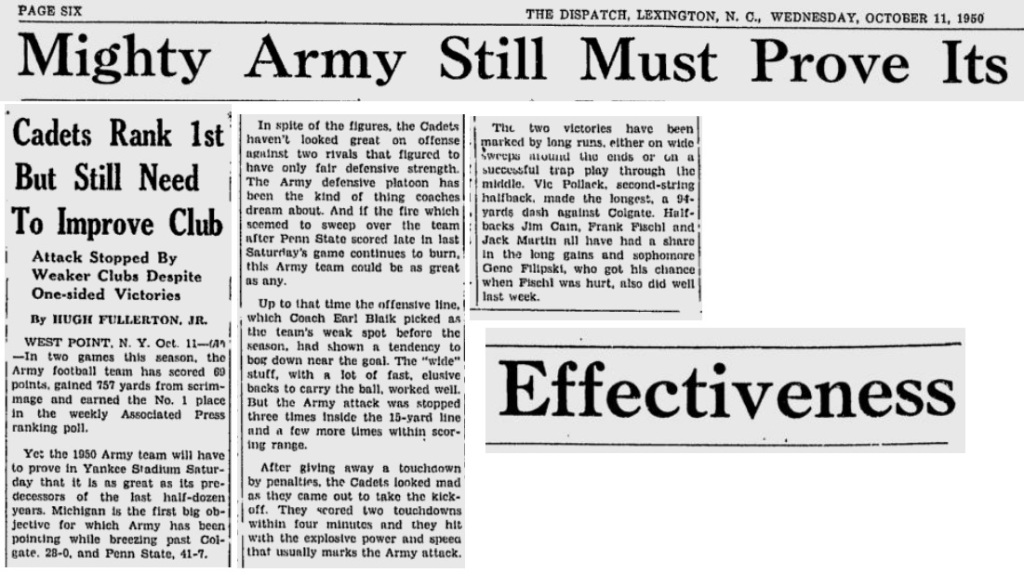 ArmyFB_1950_TheDispatch_Oct111950