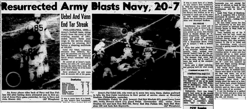 ArmyFB_1953_vsNavy_StPetersbrugTimes_Nov291953