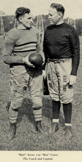ArmyFB_1929_CoachBiffJones_RedCagle-Captain