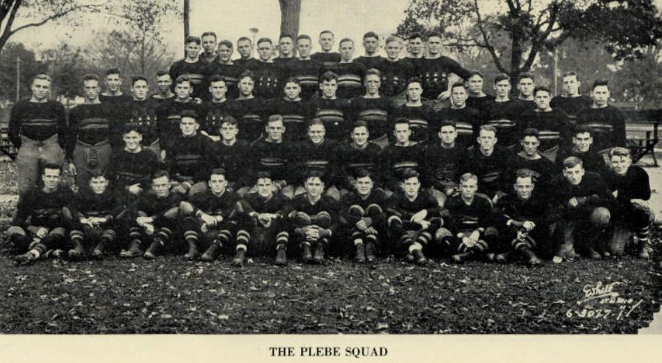 ArmyFB_1929_PlebeSquad