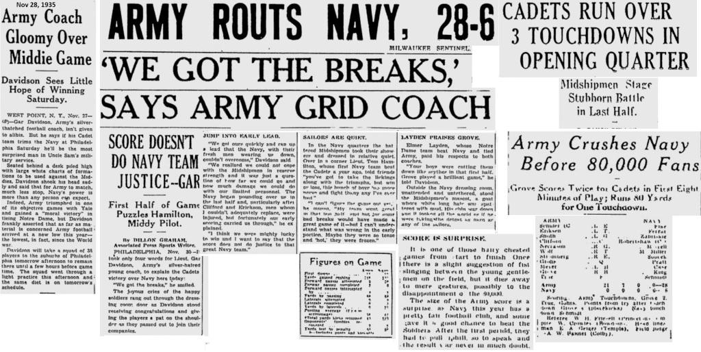 ArmyFB_1935_vsNavy_MilwaukeeSentinel_Dec11935
