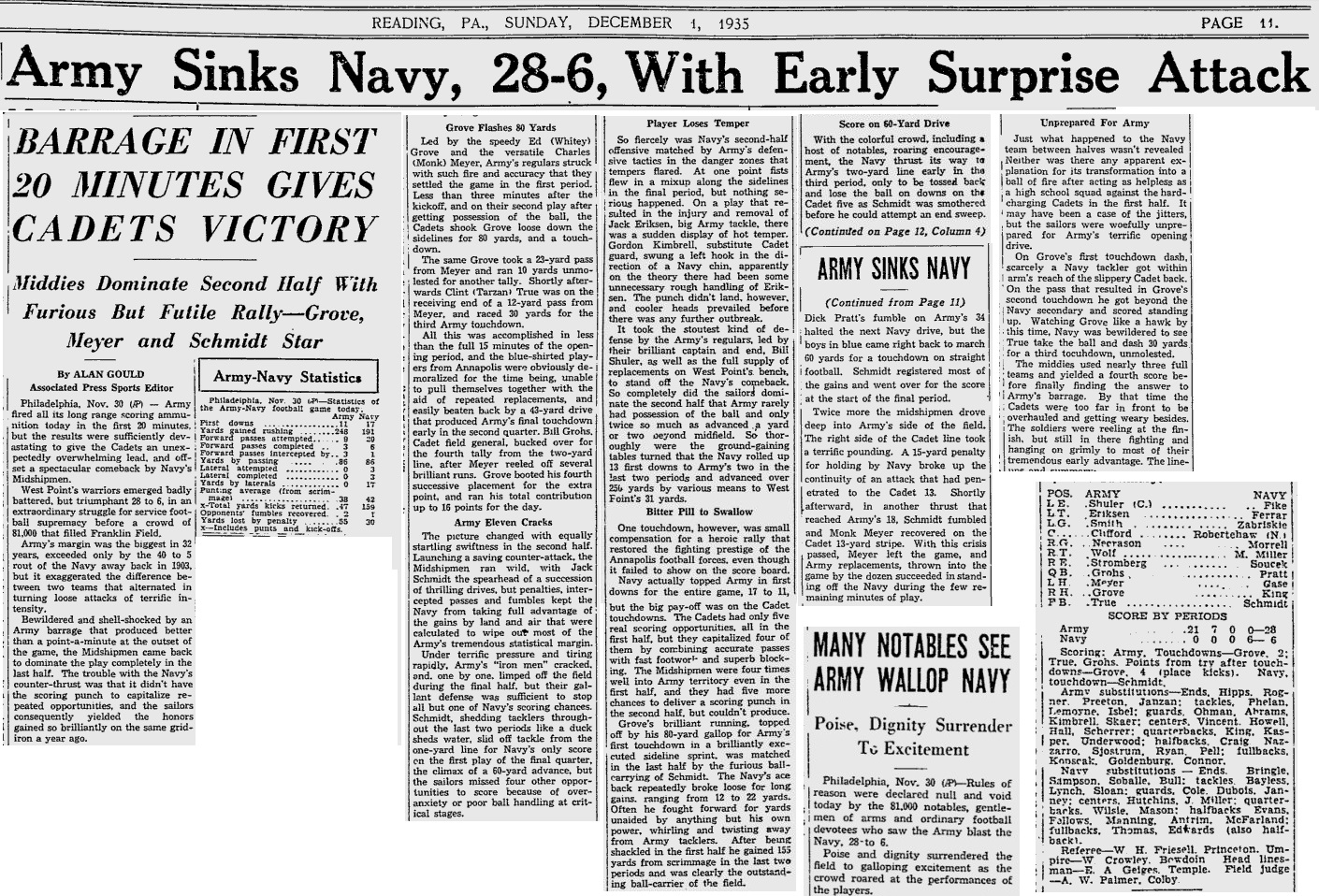 ArmyFB_1935_vsNavy_ReadingEagle_Dec11935