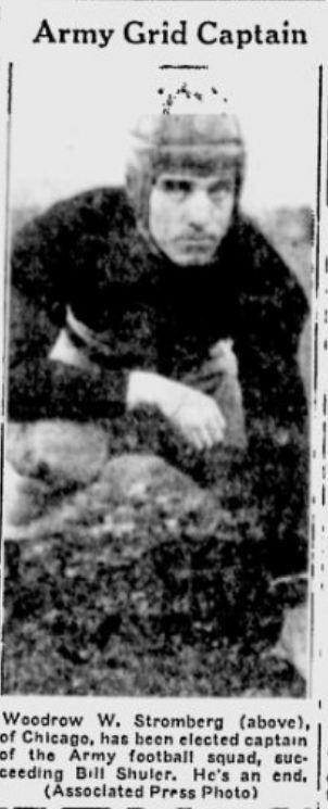 ArmyFB_1936_WoodrowStromberg-Capt_TheDay_Dec31935