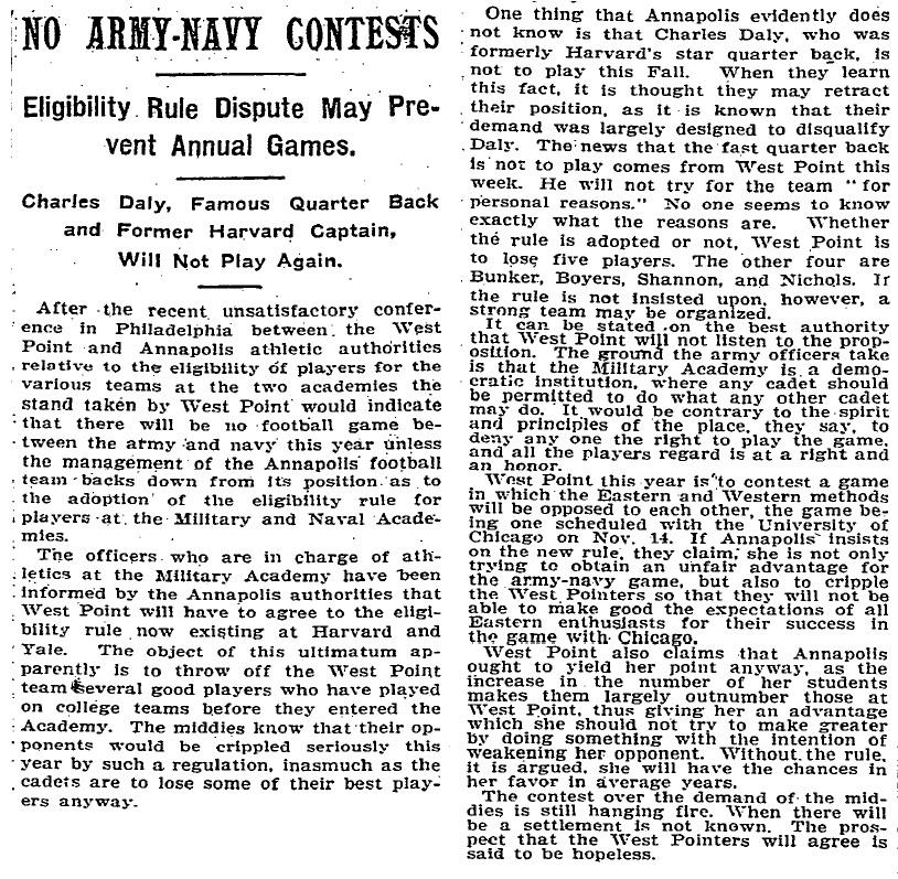 ArmyFB_1903_Eligibility_NYT_Mar251903