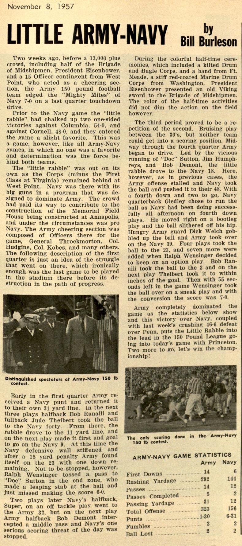 1957-150ArmyNavyGame_PresidentAttended