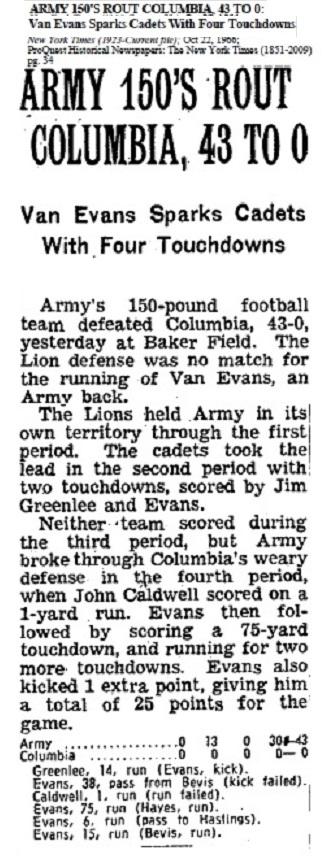 1966-VanEvans-4tds_NYT_Oct221966