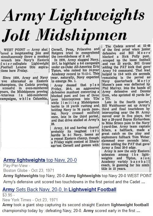 1971-102371_vsNavy_NewburghEveningNews_BostonGlobe_NewYorkTimes