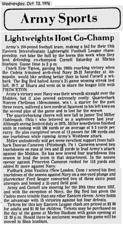 1976_101376_vsCornell_NewburghEveningNews