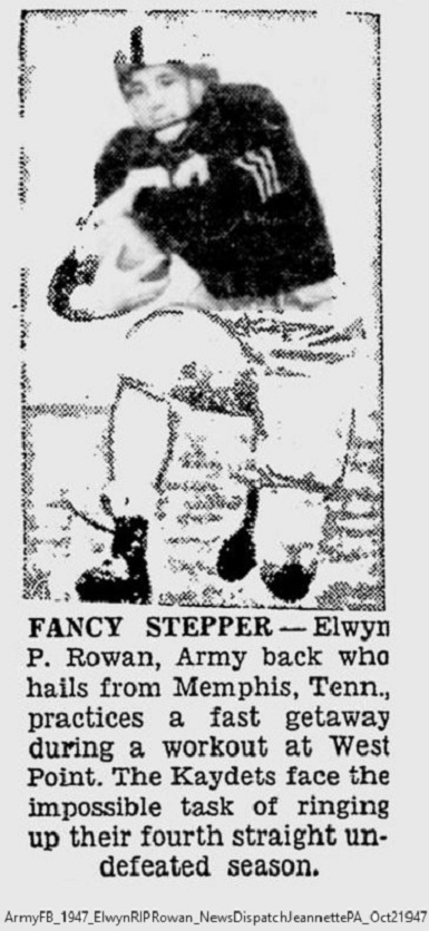 ArmyFB_1947_ElwynRIPRowan_NewsDispatchJeannettePA_Oct21947