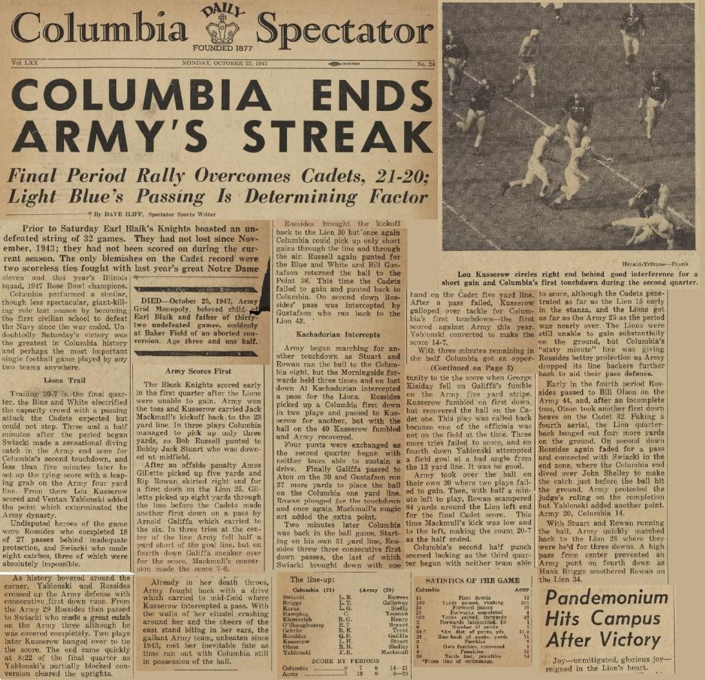 ArmyFB_1947_vsColumbia_ColumbiaSpectator_Oct271947
