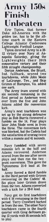 ArmyLFB_1974_111874_vsNavy_NewburghEveningNews