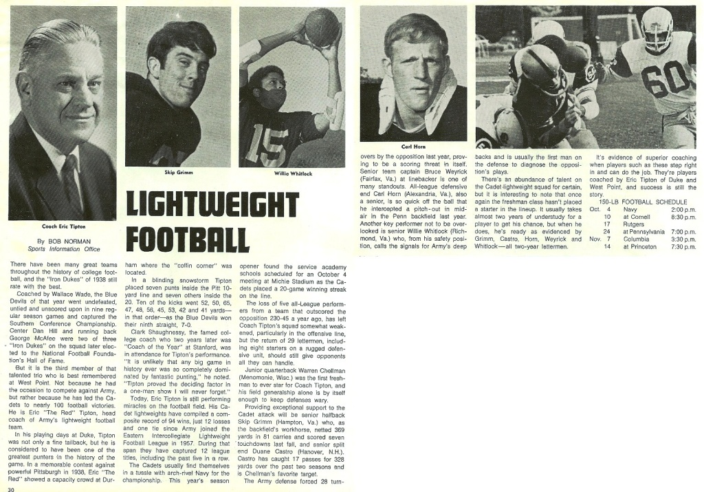 ArmyLFB_1975_ArmyFB-program