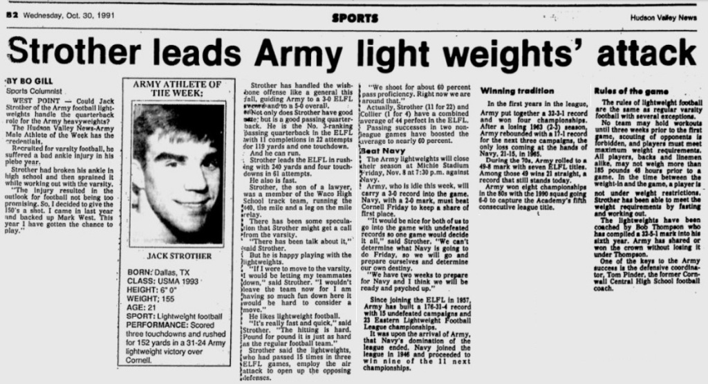 ArmyLFB_1991_JackStrother_HudsonValleyNews_Oct301991