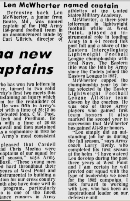 ArmyLFB_1981_LenMcWherter-Captain_EveningNews_Dec271981