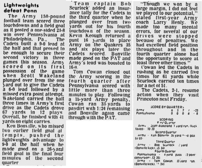 ArmyLFB_1981_vsPenn_EveningNews_Oct161981