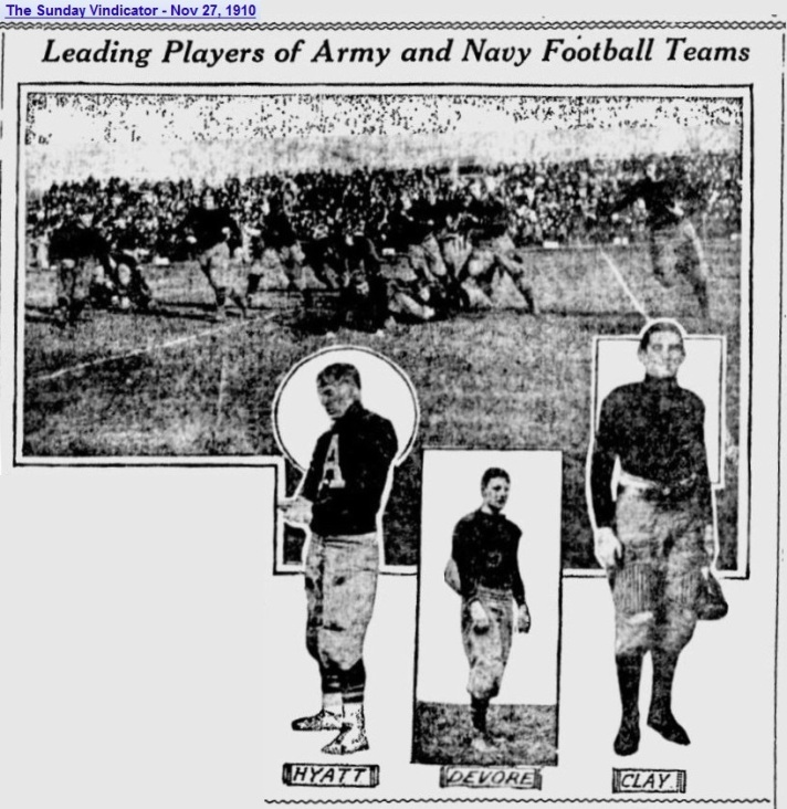 ArmyFB_1910_vsNavy_SundayVindicator_YoungstownOH_Nov271910