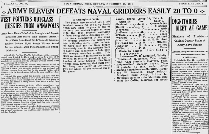 ArmyFB_1914_vsNavy_SundayVindicator_YoungstownOH_Nov291914