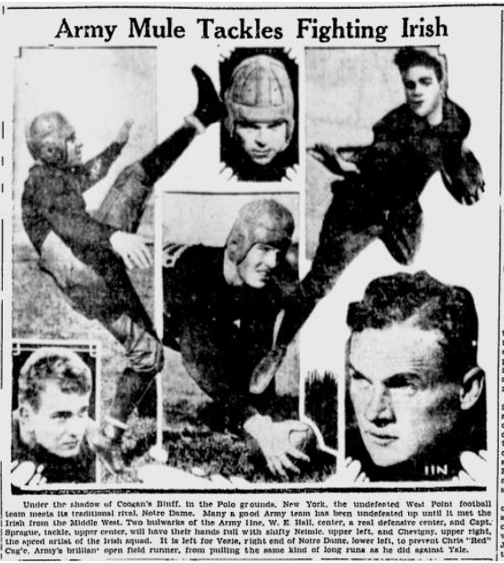 ArmyFB_1928_vsND-Players_YoungstownVindicator_Nov61928