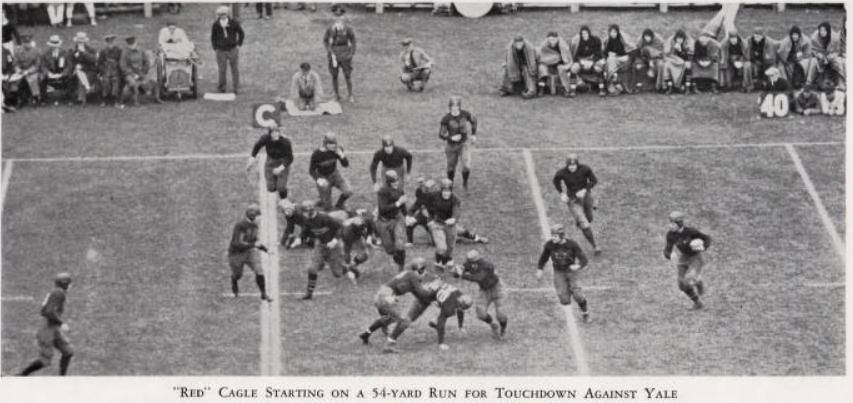 ArmyFB_1928_vsYale_Cagle-TDrun