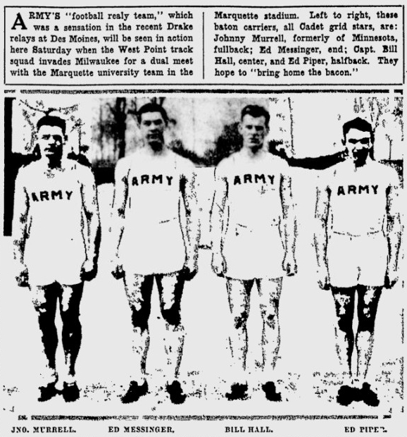 ArmyFB_1929_Football-TrackRelayTeam_MilwaukeeSentinel_May291929