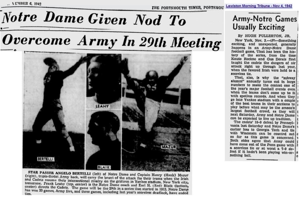 ArmyFB_1942_vsND_various_Nov61942