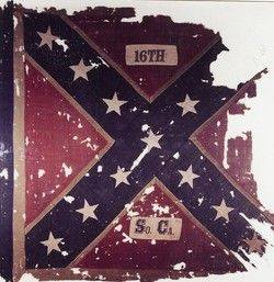 16th SC battle flag