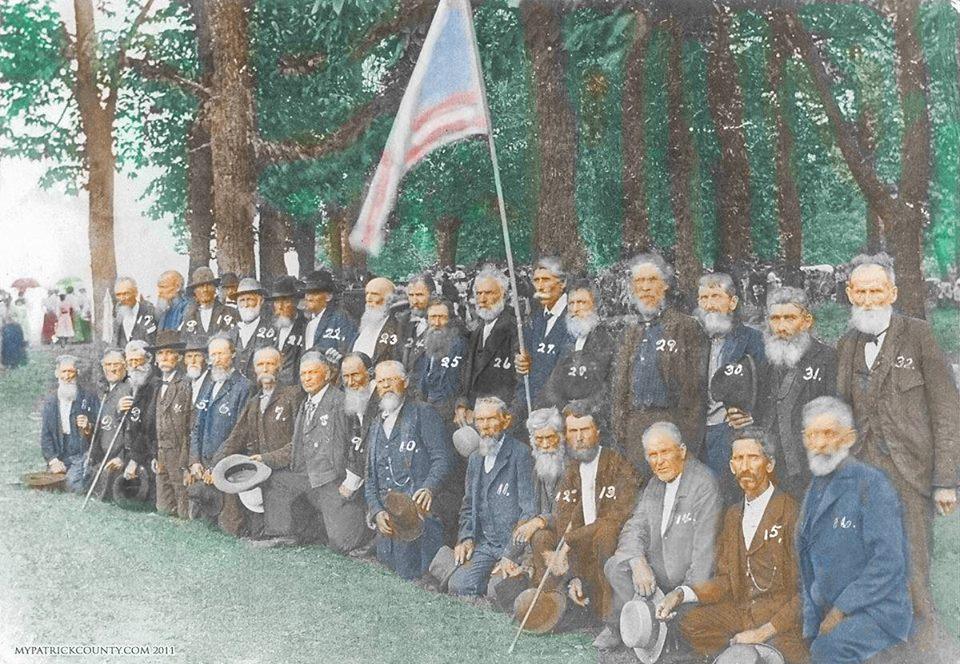 1900 Va Confederates