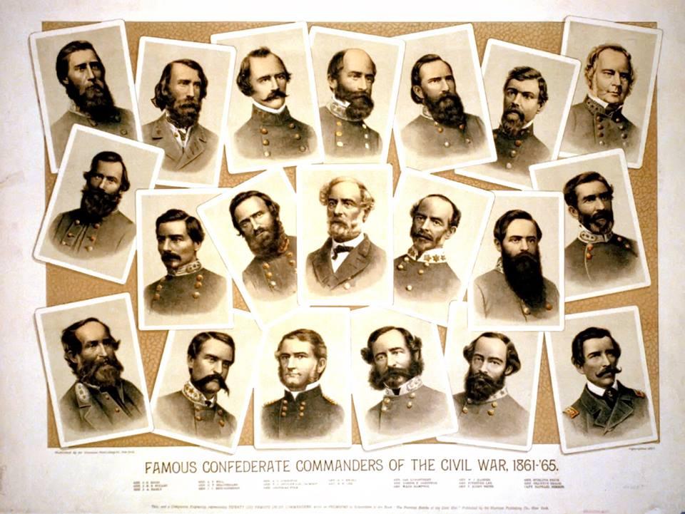 Confed generals