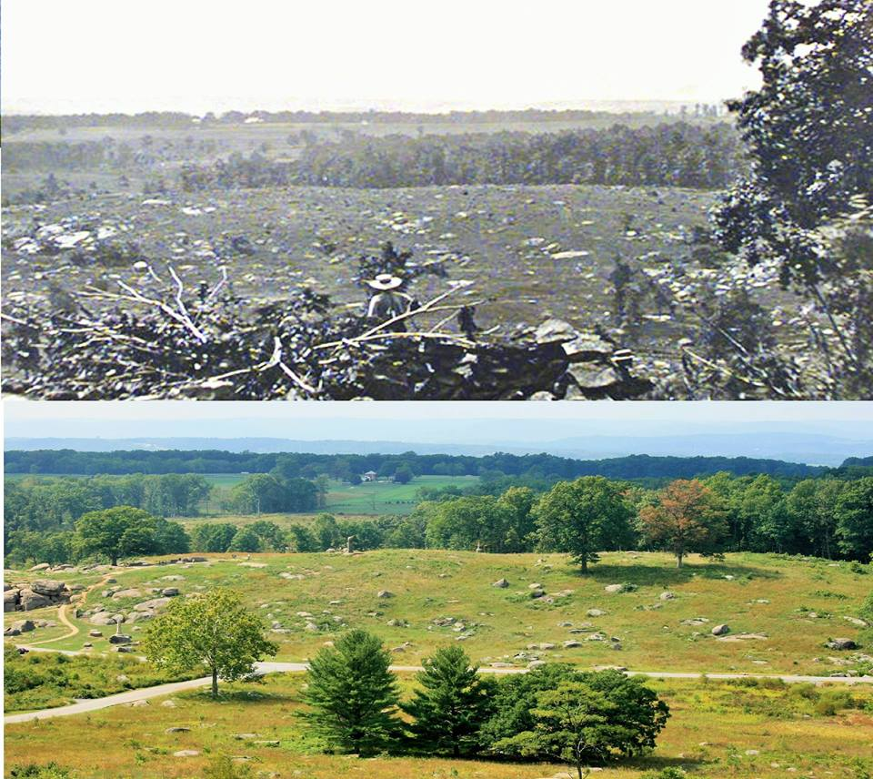 From Little Round Top